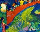 Opera di Kandinskij esposta a una mostra organizzata da Intesa Sanpaolo